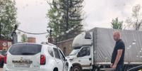 Тяжелое ДТП с мотоциклистом в Петербурге: фото