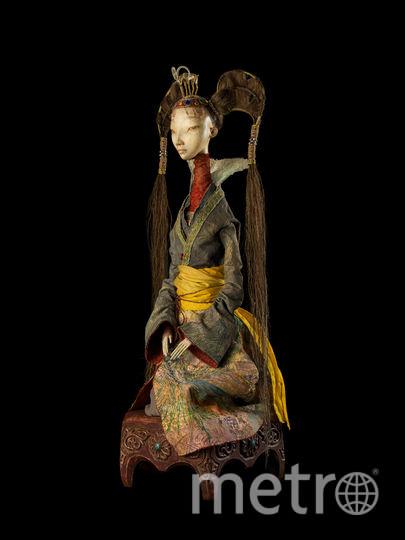 Авторская кукла семьи Намдаковых – Принцесса. Фото  предоставлены организаторами