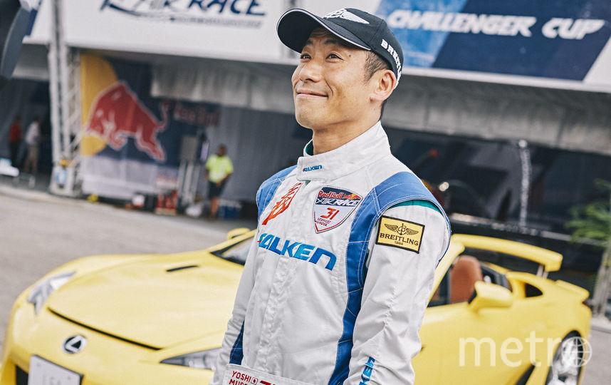 Японец Йоши Муроя, чемпион мира по авиагонкам. Фото redbullcontentpool.com , Предоставлено организаторами