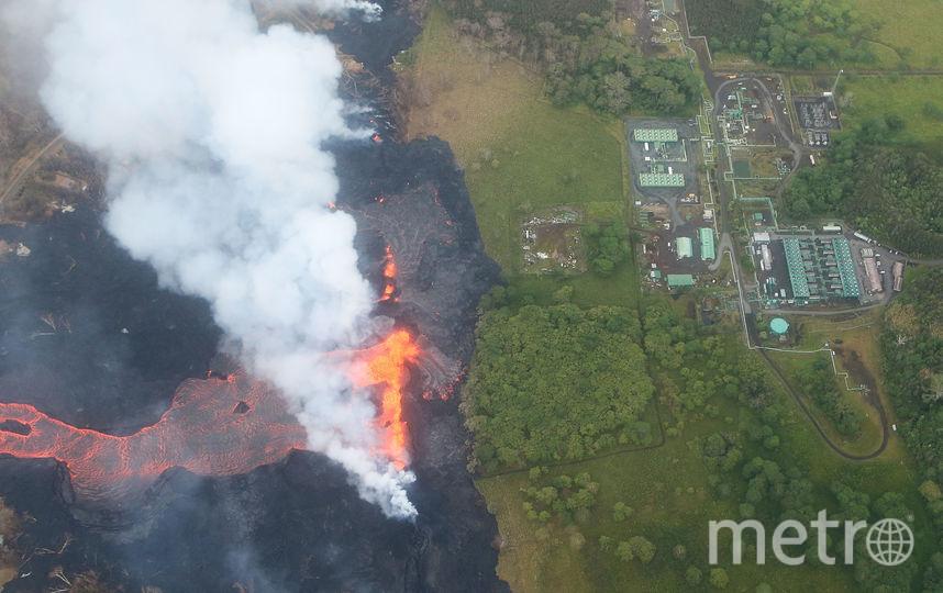 Извержение вулкана нанесло непоправимый ущерб 44 строениям. Фото AFP