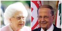 Одно лицо: Елизавета II и президент Ливана выглядят, как близнецы