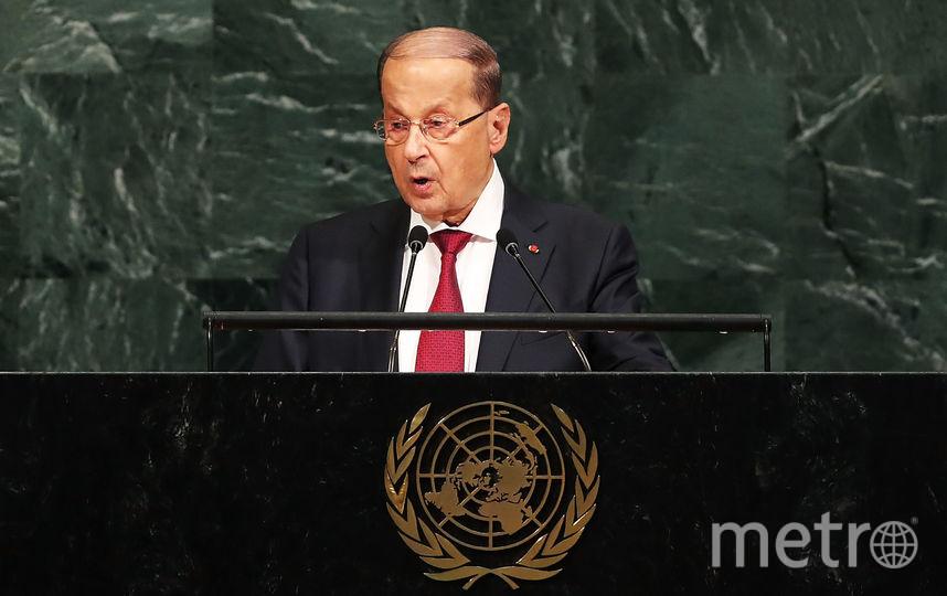 Президент Ливана Мишель Аун. Фото Getty