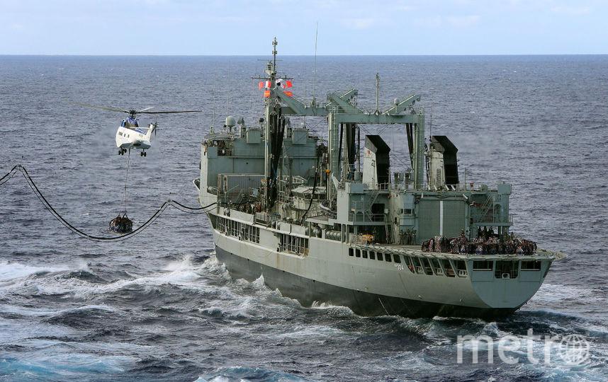 Исследовательское судно США, которое занималось поиском пропавшего над Индийским океаном Boeing MH370 Malaysia Airlines. Фото Getty