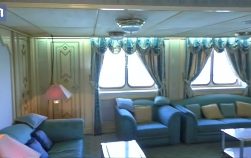 "Скриншот из видео | Яхта ""Башра Бриз"". Фото Daily Mail, Скриншот Youtube"
