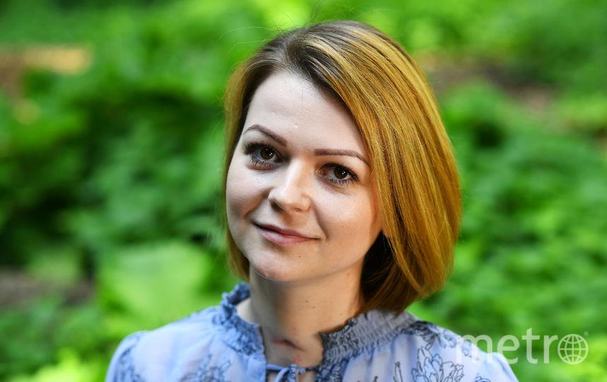 Юлия Скрипаль во время беседы с журналистом Reuters. Фото Getty