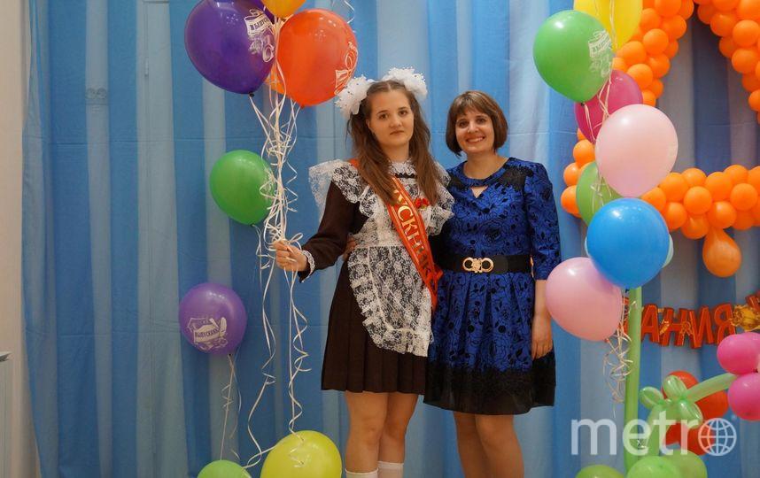 Саша с мамой – на последнем звонке.. Фото из личного архива Натальи Копыловой