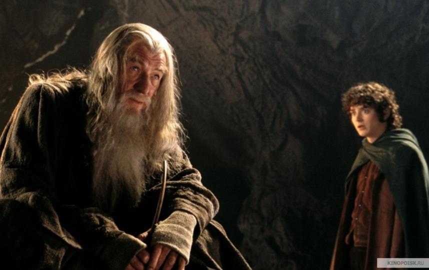 """Иэн Маккеллен в роли Гэндальфа, кадр из фильма """"Властелин колец"""". Фото kinopoisk.ru"""