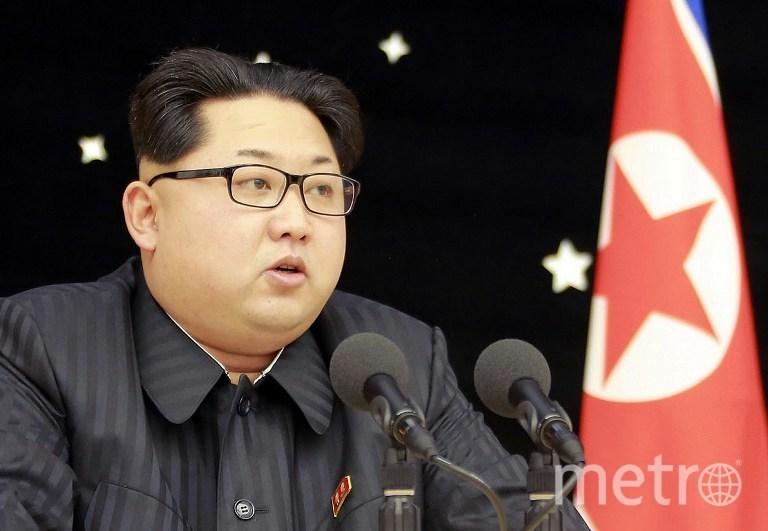 Лидер КНДР Ким Чен Ын. Фото AFP
