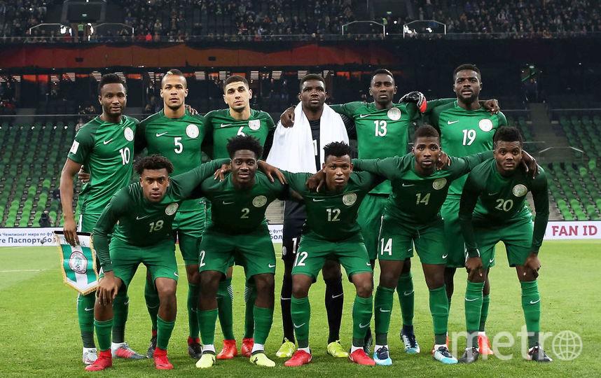 Сборная Нигерии по футболу. Фото Getty