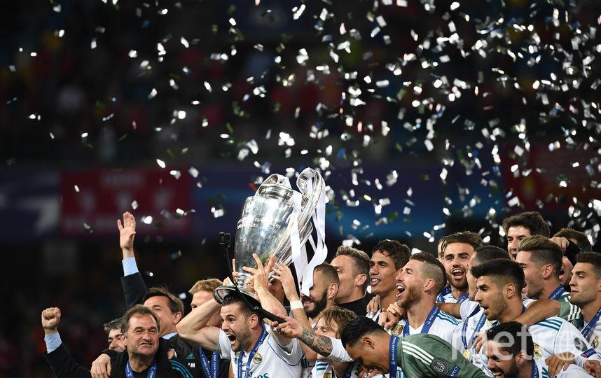 """""""Реал"""" выиграл у """"Ливерпуля"""" в финале Лиги чемпионов. Фото AFP"""