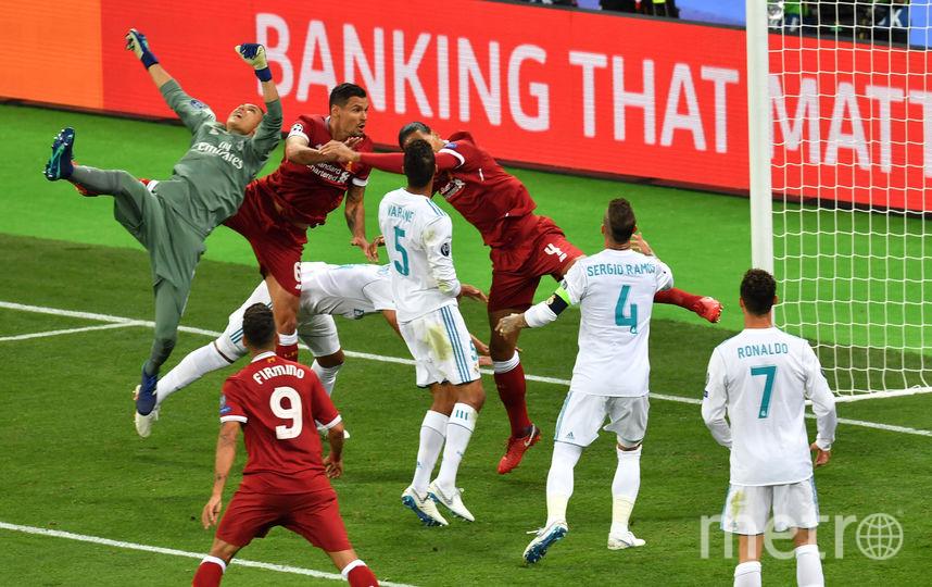 """Борьба в штрафной """"Реала"""". Фото AFP"""