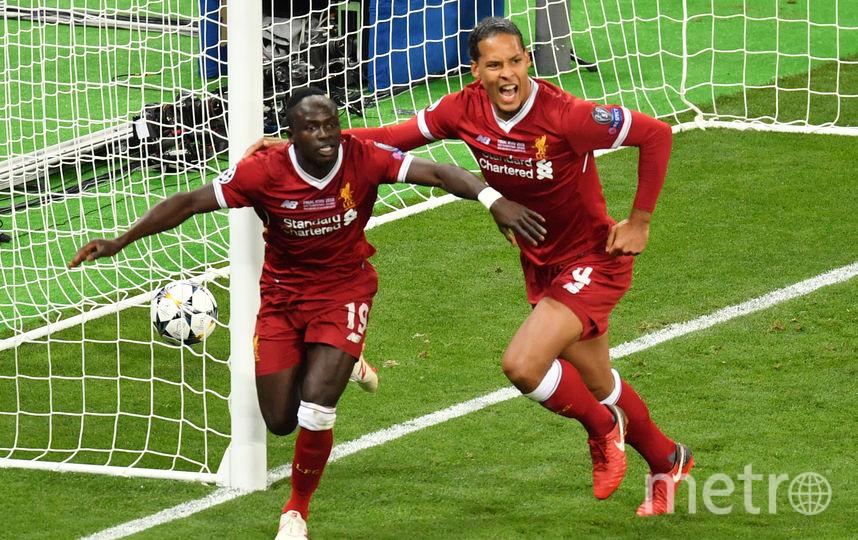 Садио Мане сравнял счёт в матче. Фото AFP