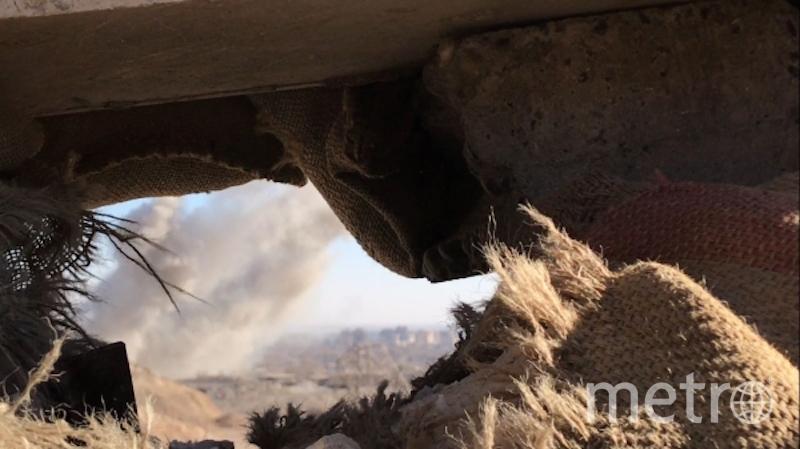 Наступление сирийской армии к востоку от города Дейр-эз-Зор. Фото РИА Новости