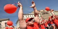 В Петербурге провели исторический парад  физкультурников
