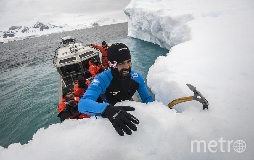 Дуке призвал беречь арктический и антарктический лёд. Фото redbullcontentpool.com