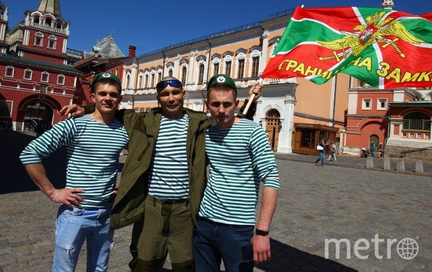Москва празднует День пограничника. Фото Василий Кузьмичёнок