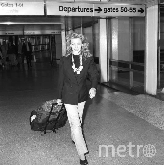 Кайли Миноуг в молодости. Фото Getty