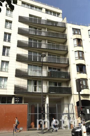 Дом, на который взобрался по балконам Мамуду Гассама, чтобы спасти ребёнка. Фото AFP