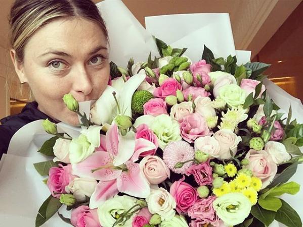 Скриншот instagram.com/mariasharapova/?hl=ru.