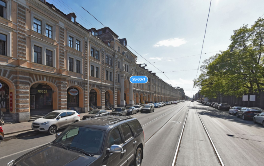"""Апраксин двор"". Фото Яндекс.Панорамы"