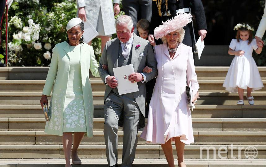 Дория Рэгланд, принц Чарльз и Камилла Паркер-Боулз. Фото Getty