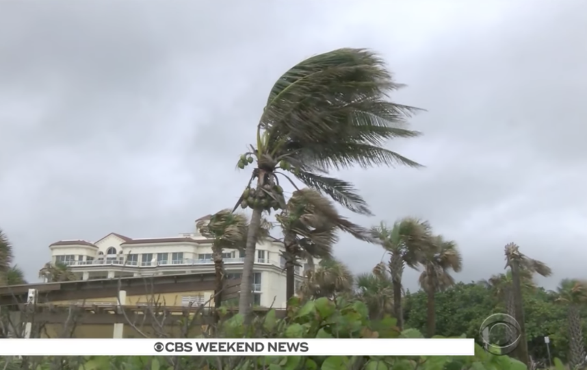 Фото урагана Альберто на побережье Флориды. Фото соцсети
