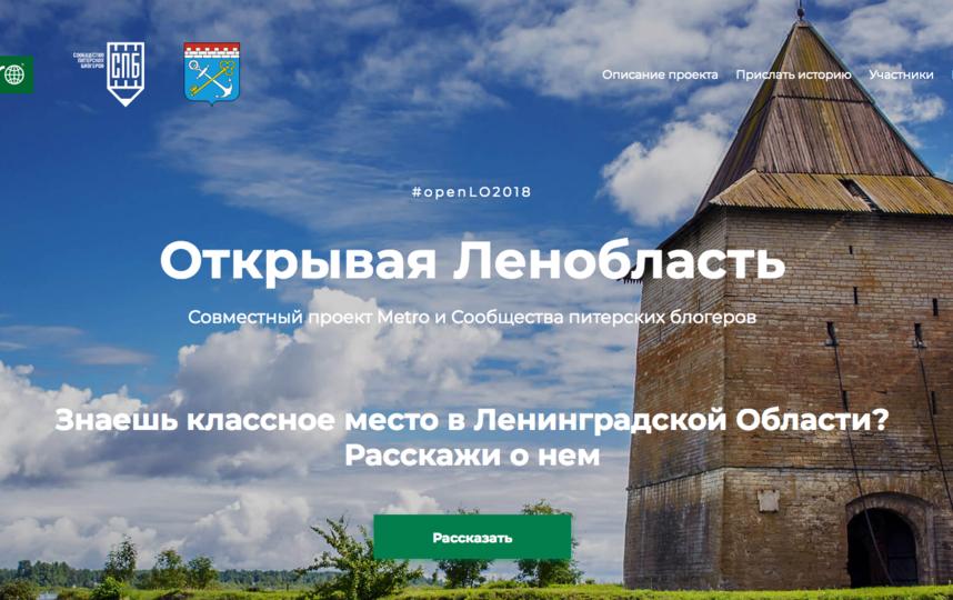 Сайт уже начал работу - расскажите свою историю. Фото lo.metronews.ru