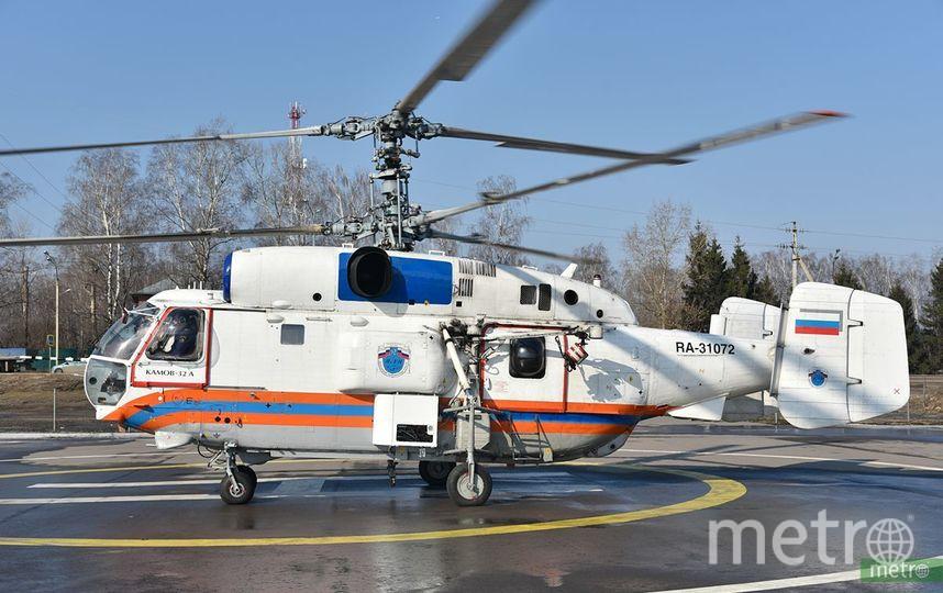 Вертолёт МЧС, архивное фото. Фото Василий Кузьмичёнок