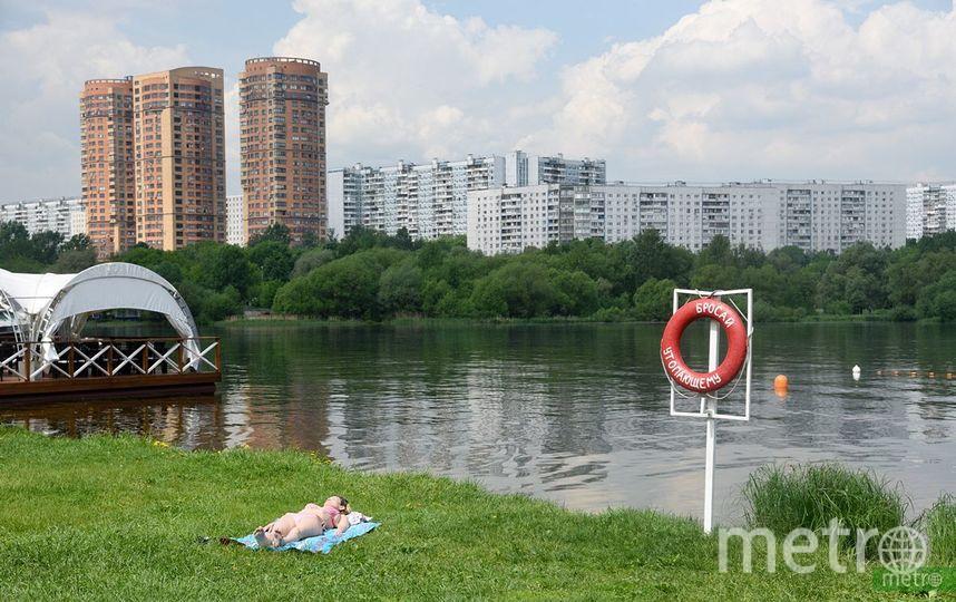 1 июня в Москве откроют118 зон отдыха у воды. Фото Василий Кузьмичёнок