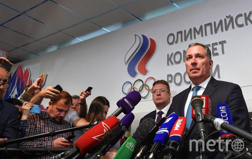 Станислав Поздняков - новый президент ОКР. Фото AFP