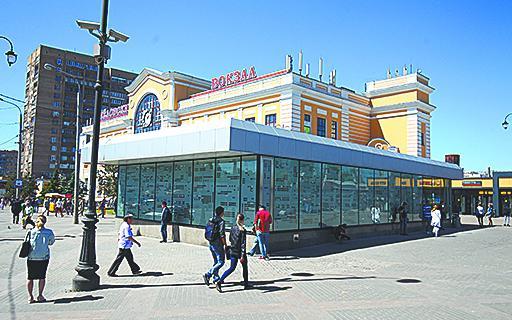 Савёловский вокзал.