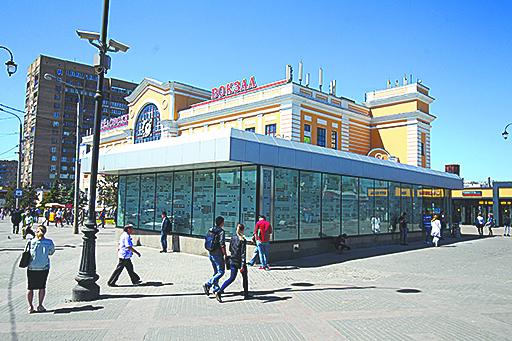 Савёловский вокзал. Фото Василий Кузьмичёнок