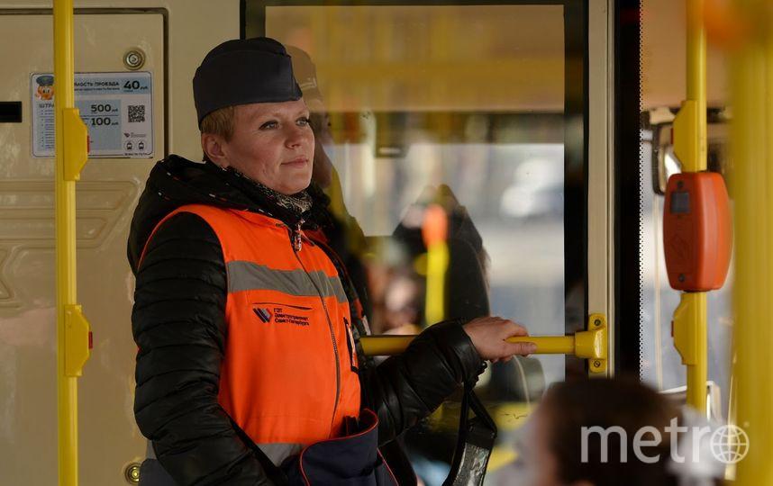 Татьяна Кондрахина уже почти пять лет работает на маршрутах седьмого парка. Фото «Горэлектротранс»
