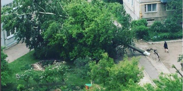 Ураган в Нижнем Новгороде 30 мая.