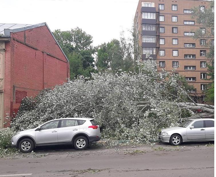 Ураган в Нижнем Новгороде 30 мая. Фото Evgeniy Sboev