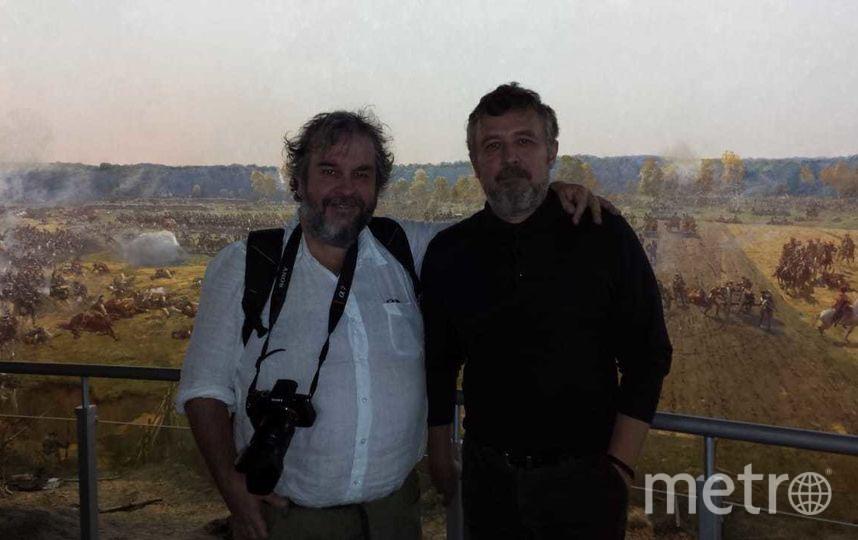"""Питер Джексон в Музее-панораме """"Бородинская битва"""". Фото все - предоставлены пресс-службами музеев"""