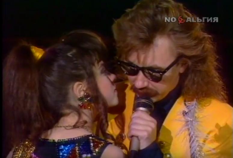 Наташа Королева и Игорь Николаев. Фото Скриншот Youtube