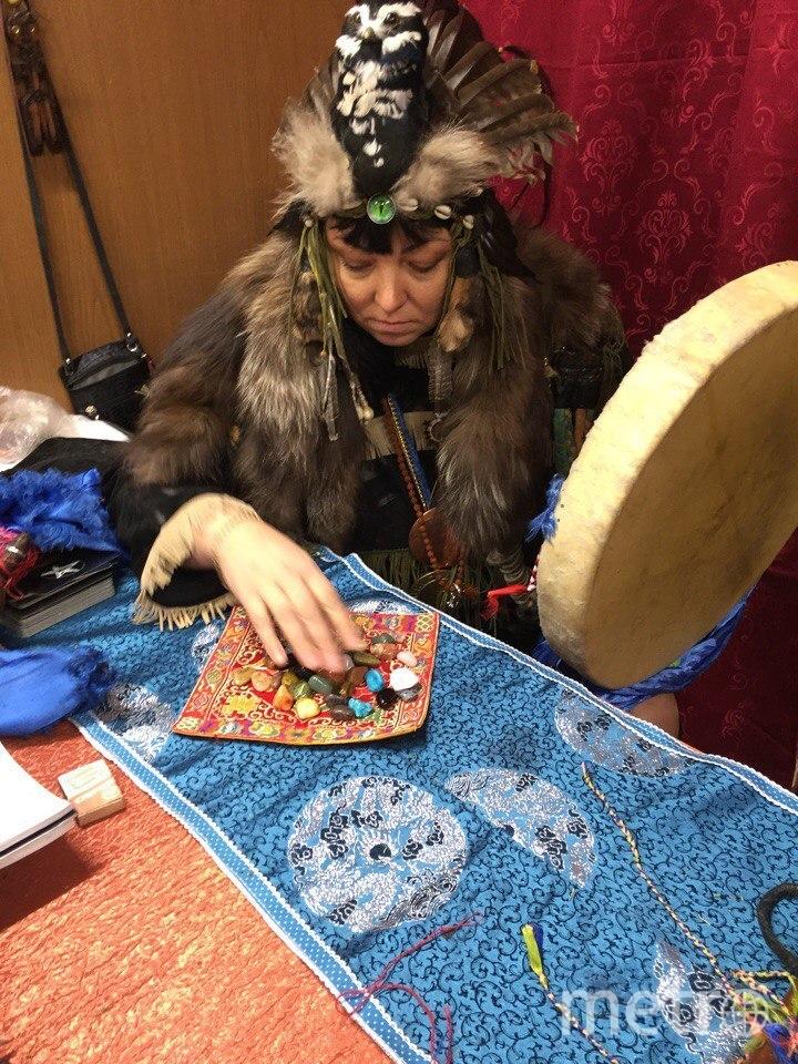 Кара Берю, шаман-целитель.