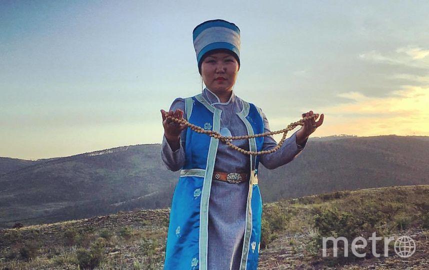 Ульяна Раднаева, потомственная шаманка из Бурятии.