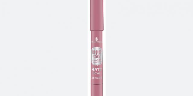 Помада-карандаш Essence butter stick matt love 04 pink marshmallow.
