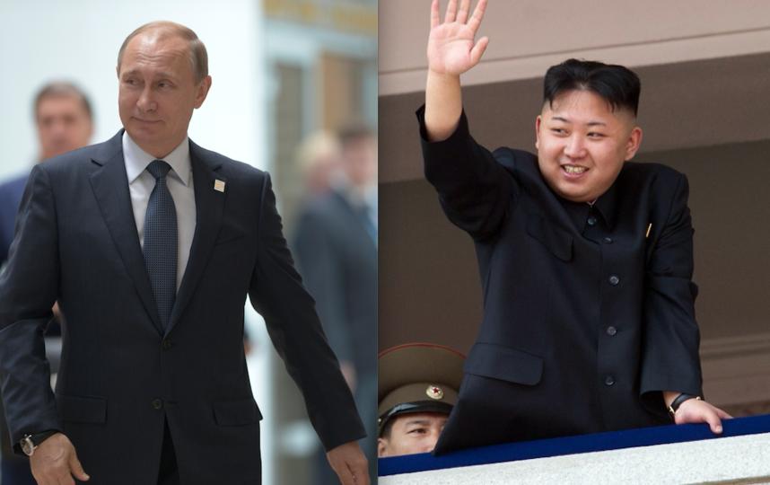 Владимир Путин и Ким Чен Ын. Фото AFP, Getty