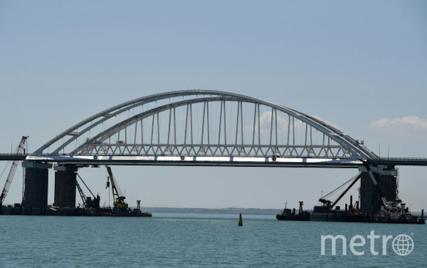 Крымский мост. Фото РИА Новости