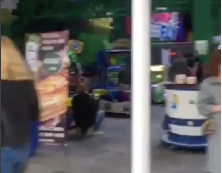 Скриншот видео. Фото instagram.com/angarsk_news