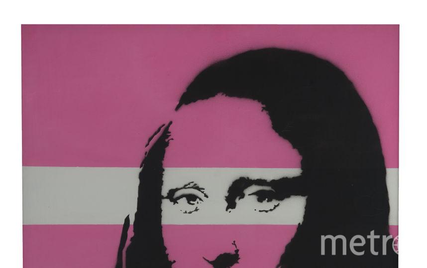 """Бэнкси """"Мона Лиза"""". Фото предоставлено организаторами выставки."""