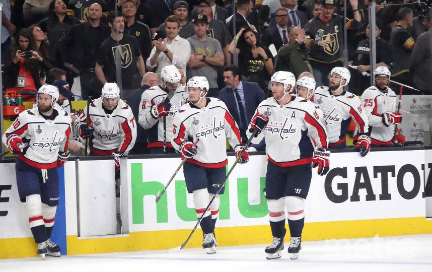 """Хоккеисты """"Вашингтон Кэпиталз"""", НХЛ. Фото Getty"""