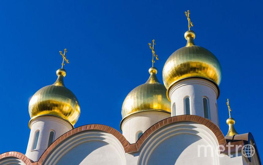 Православный храм. Фото Pixabay