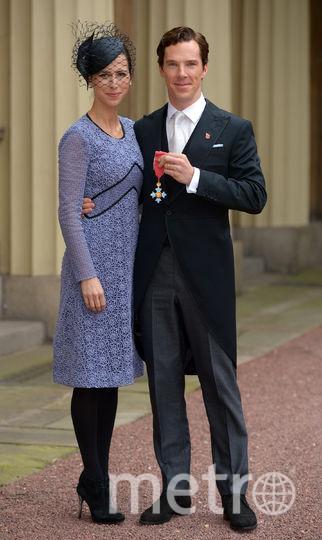 Бенедикт Камбербэтч с женой. Фото Getty
