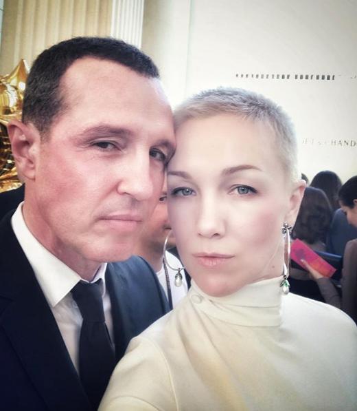 Игорь Верник и Дарья Мороз. Фото Скриншот Instagram: d_moroz