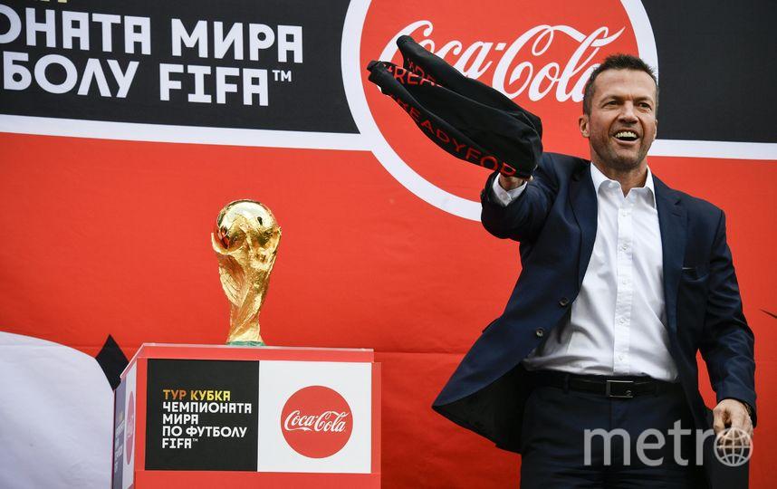 В мероприятии принял участие легендарный немецкий футболист Лотар Маттеус. Фото AFP