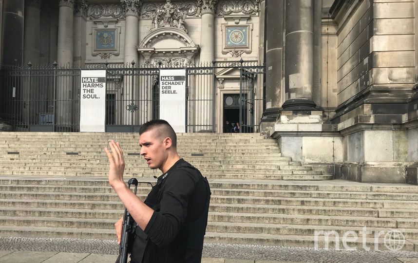 На данный момент Кафедральный собор оцеплен. Фото AFP